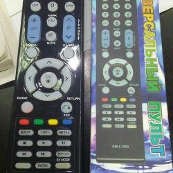 Τηλεχειριστήριο για το LG RM-L 1066 universal