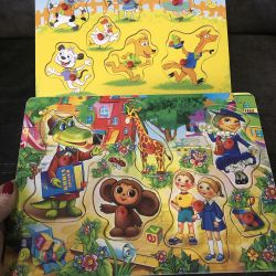 ⁉️THE PRICE FOR 2 wooden puzzles