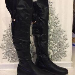 Нові чоботи ботфорти