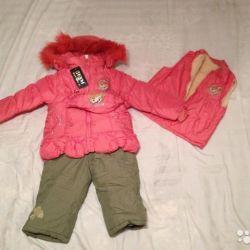 Οικολογικές φόρμες νέων παιδιών για το κορίτσι (3 σε 1)