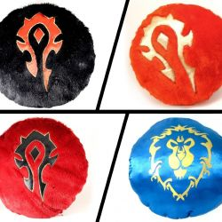 World of Warcraft cushions - gift. Size 30 cm