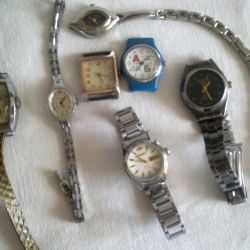 Wristwatches different USSR