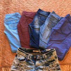Джинсы и шорты