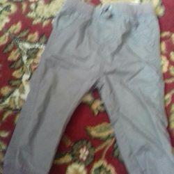 Sonbahar için ince pantolon