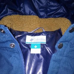 Winter jacket for the boy Columbia original.