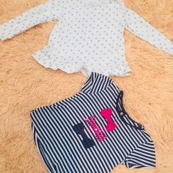T-shirt and Tunic for 2-3 years