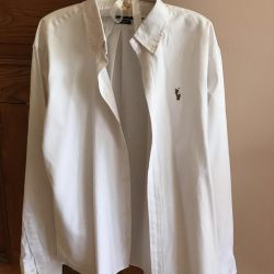 White men's shirt RL