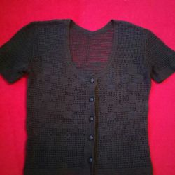 Blouses, knitted, cotton, M