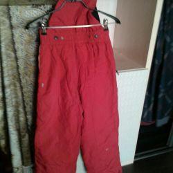 Warm overalls