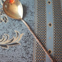 Spoon nickel with gold plating