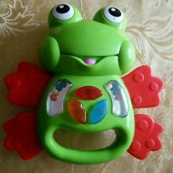 Εκπαιδευτικά παιχνίδια, βάτραχοι και κουδουνίστρες