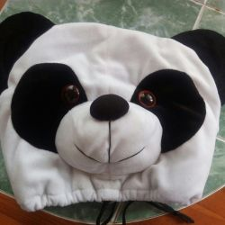 Headrest panda