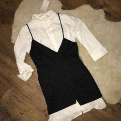 Новое женское платье-двойка Zara