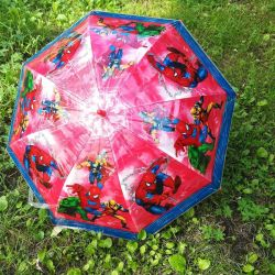 Детские зонты с героями мультфильмов
