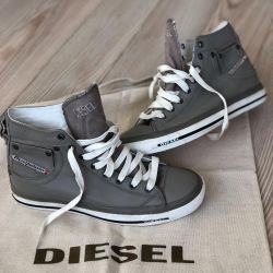 Dizel spor ayakkabılar yeni deri s.39