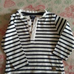 T-shirt με μακρύ μανίκι για το αγόρι, 68 μεγέθη