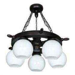 Chandelier NATURAL WOOD (New)