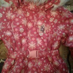 Kızlar için ceket 110 boyutu