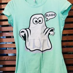 T-shirt of super-gently mint color