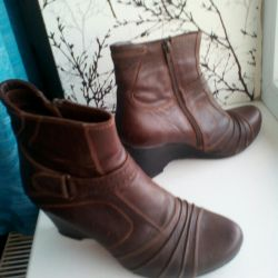 Leather ankle boots 37r