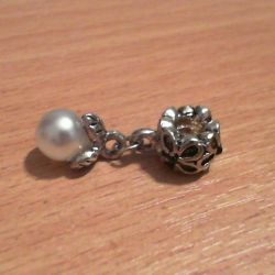 Charm with breakdown 925 for the Pandora bracelet new