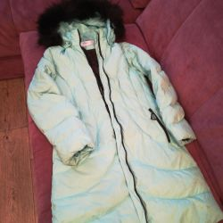 Down jacket for girl height 146