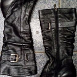 Boots genuine leather 37-38