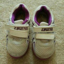 Sneakers Zebra, 24 boyut