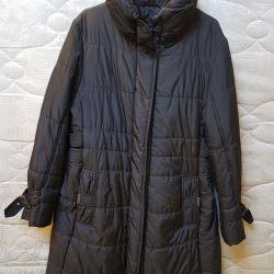 Sentetik bir kışlık bayan ceketi