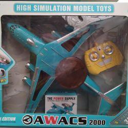 3D airplane on the radio