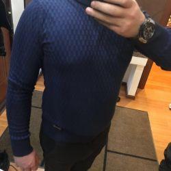 Sweatshirt turtleneck Salvadore Ferragamo Italy! ️