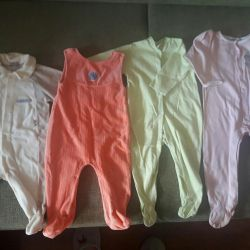 4 coveralls p. 6 months
