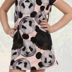 Туника-платье на девочку
