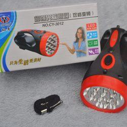 Диодный ручной фонарик