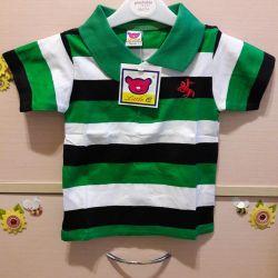 Yeni çocuk polo tişörtleri