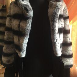 Yeni kunduz kürk ceket