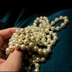 Новое ожерелье под жемчуг. Качественная бижутерия.