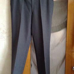 Τα παντελόνια είναι καινούργια 50-52 / XL. Korea.Wool