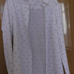 Блузка с птицами