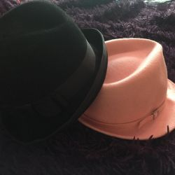 Ροζ καπέλο γυναικών