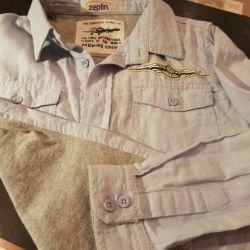Shirt on a boy 116 cm