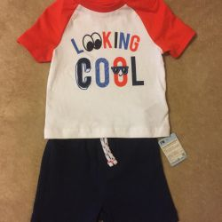 Mothercare T-shirt and Shorts New
