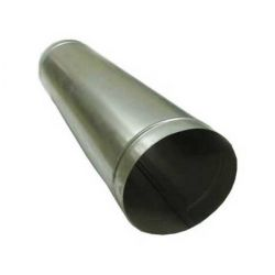 Galvanized ventilation pipes