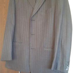 Γκρι κοστούμι p 48 ντυμένος 1 φορά