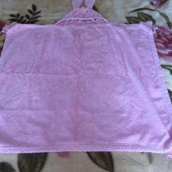 Πετσέτα για ένα νεογέννητο μωρό