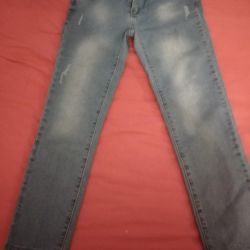 Jeans are new 10-11 years old