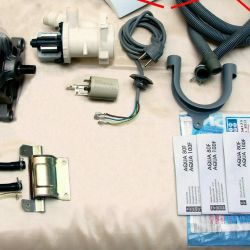 Spare parts for Candy Aquamatiq Aqua 80F parse