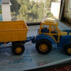 Tractor cu remorcă