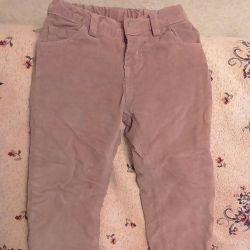 The trousers warmed, r 98