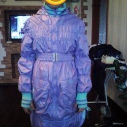 Demi-season raincoat